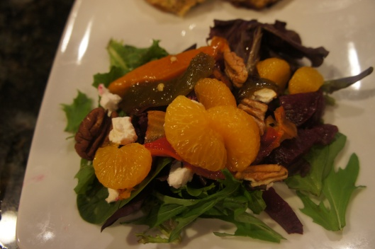 Mixed Green Roasted  Beet Salad