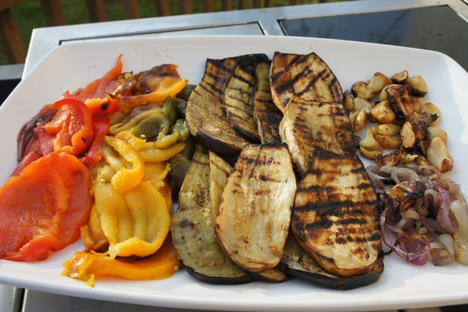 Grilled Veges