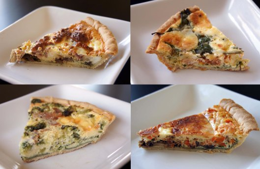 4 quiche Saturday