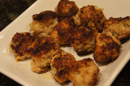 Gorgonzola Rosemary Chicken Balls