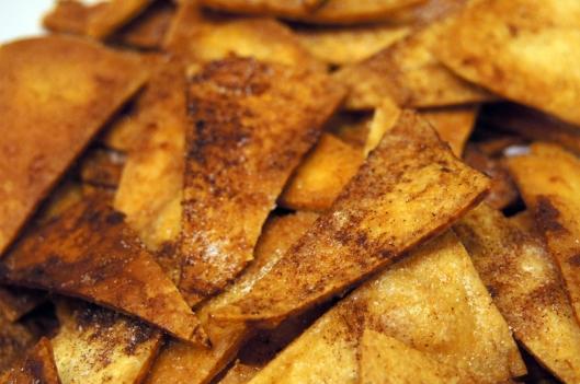 Cinnamon Sugar Tortillas