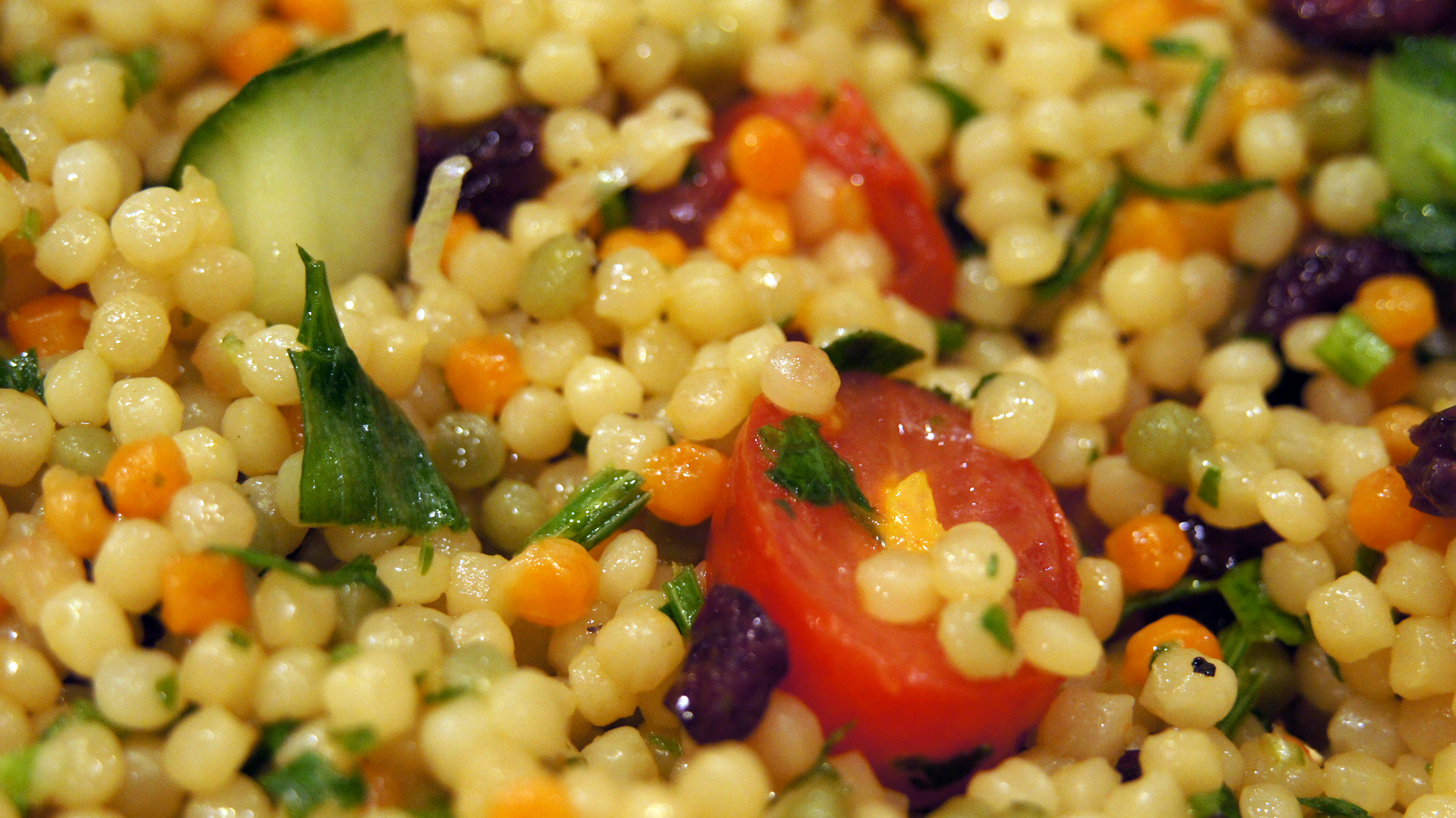 MEDITERRANEAN PEARL COUSCOUS SALAD  Little Spice Jar