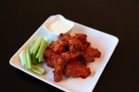 Crunchy Buffalo Hot Wings