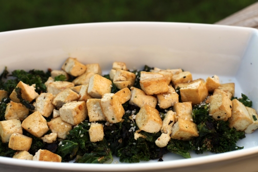 Kale and Tofu