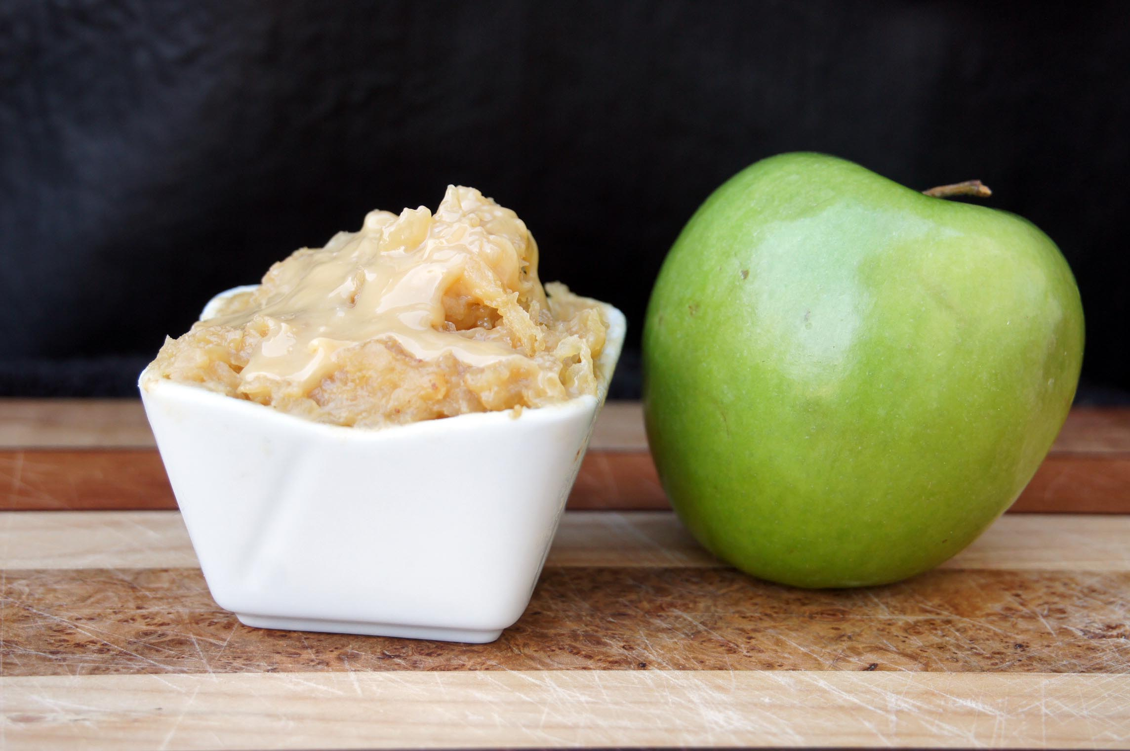 Salted Caramel Apple Filling for Hamantaschen | Bits and Bytes