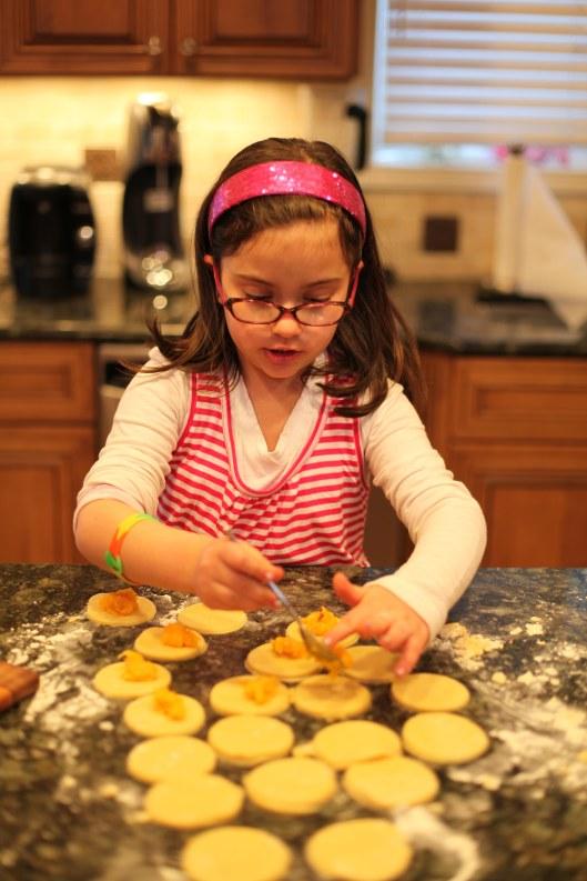 Making Apricot Hamantaschen