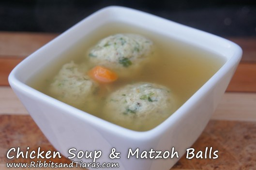 Chicken Soup & Matzoh Balls