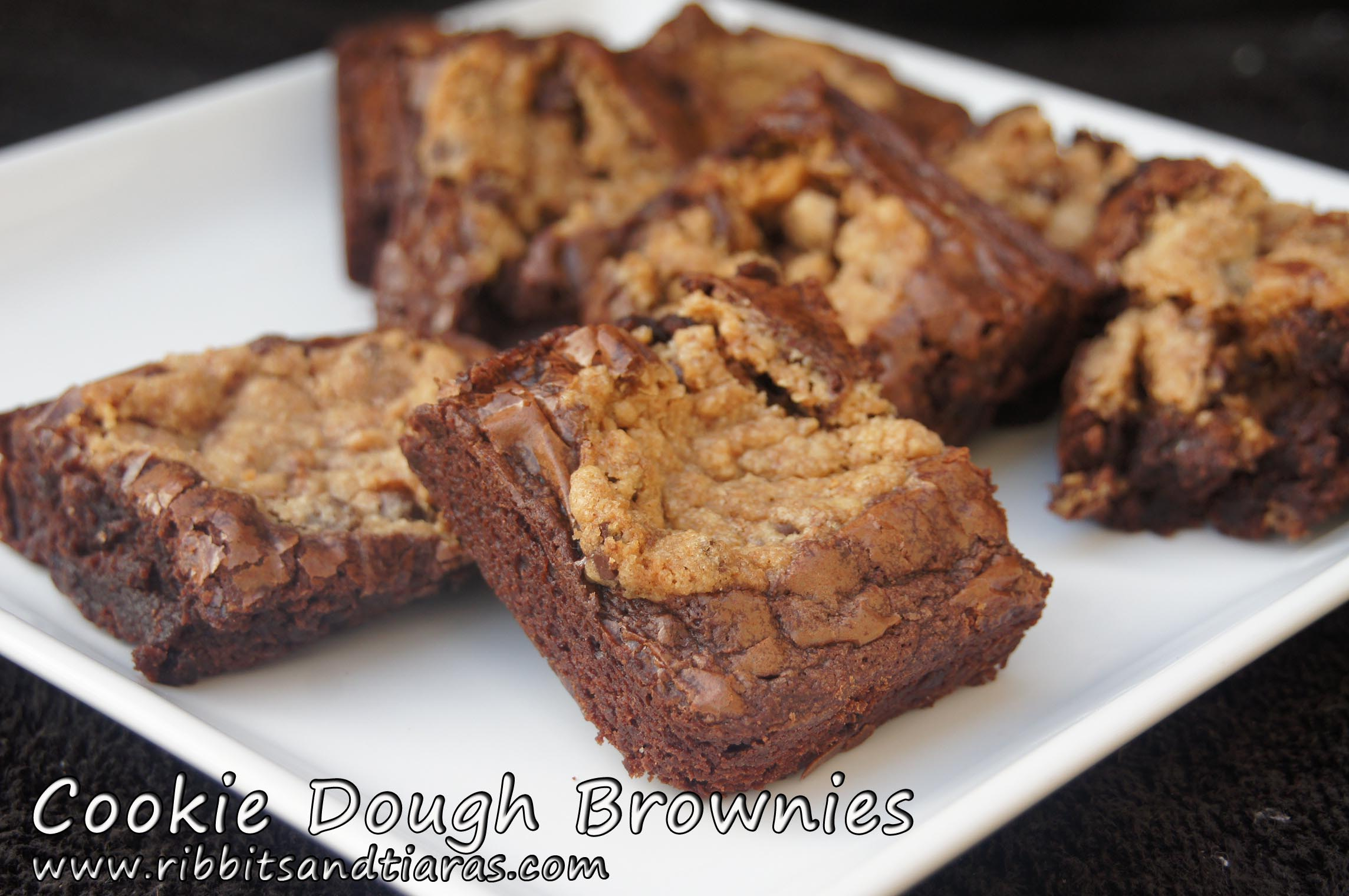 Cookie Dough Brownies | Bits and Bytes