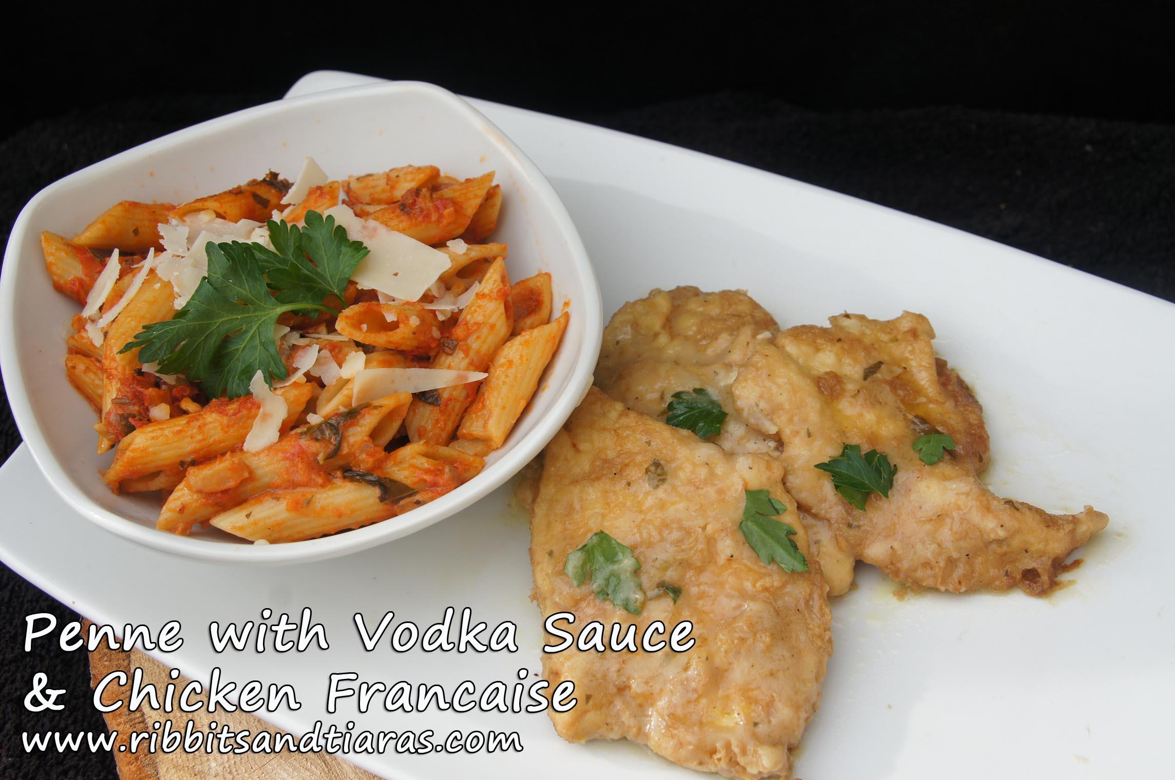 Chicken And Penne In Vodka Cream Sauce Recipe — Dishmaps
