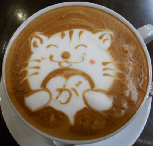 Cute Cat Coffee / Latte Art