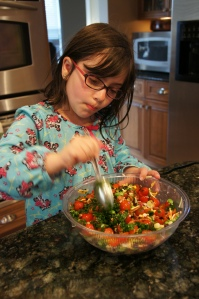 Seared Scallop and Shrimp Salad Bowl Prep