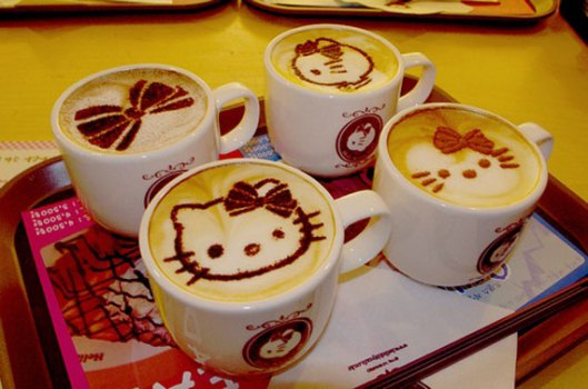 Hello Kitty Coffee / Latte Art