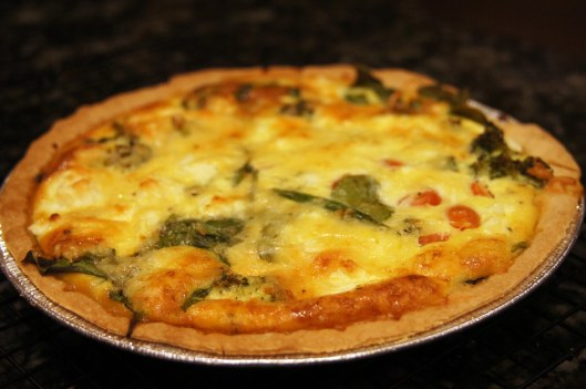 Vegetable Quiche