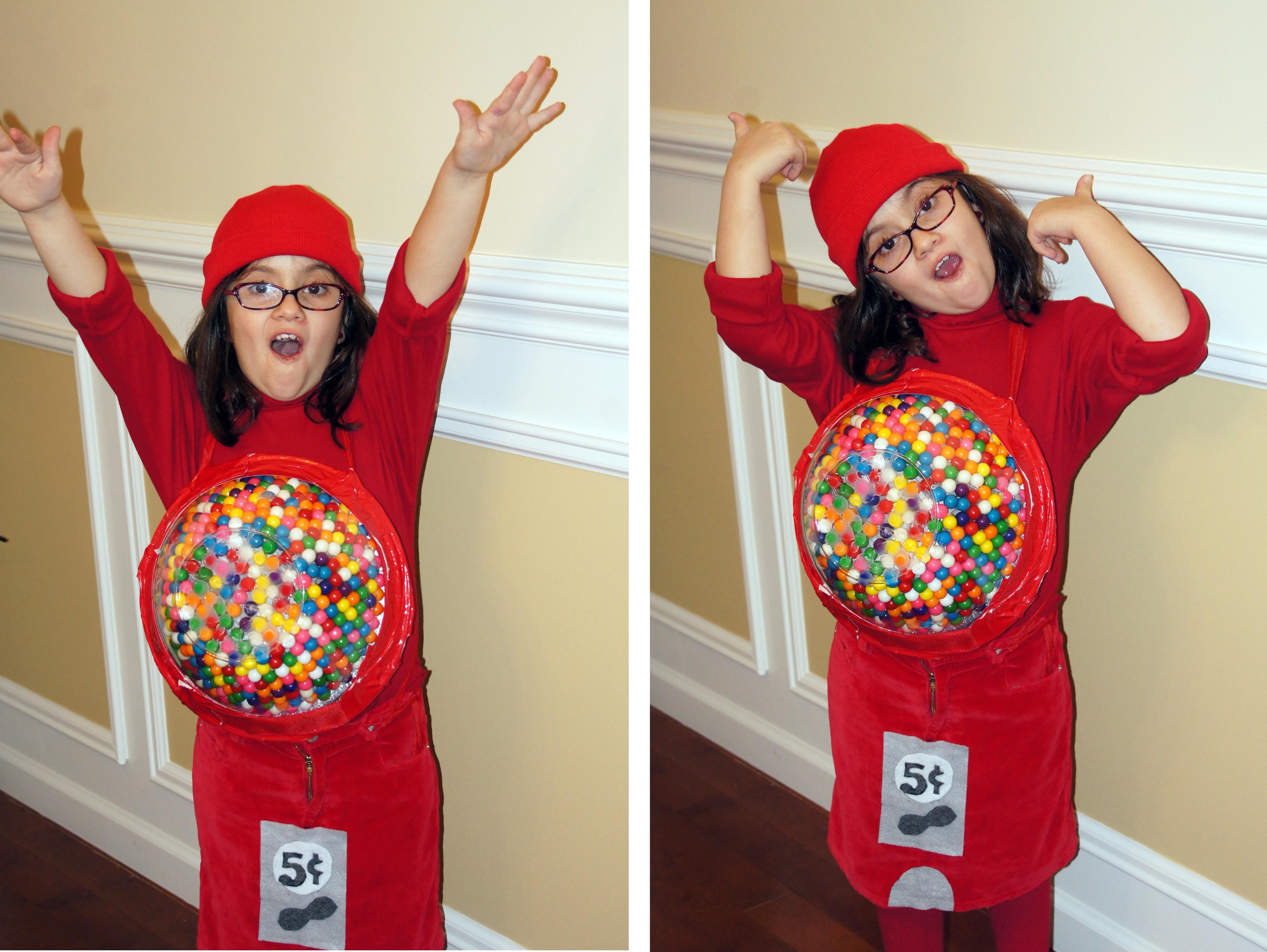 R is for Red Gumball Machine Costume