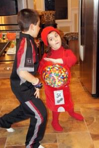 Red Gumball Machine Costume
