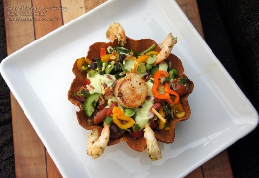 Seared Scallop and Shrimp Bowl