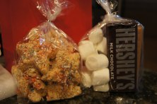 Rice Krispies Crispy Treat Bags and S'Mores Kit