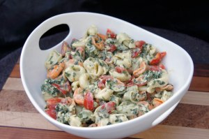 Tri Color Tortellini Salad