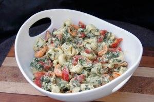 Tri Color Tortellini Salad