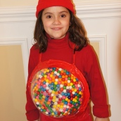 Red Gumball Machine Costume