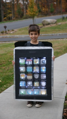 iPhone Costume 2009
