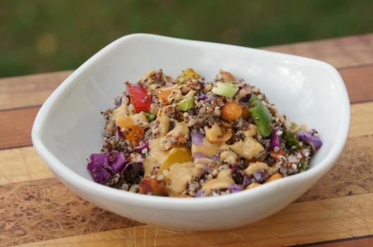 Crunchy Quinoa Kaniwa Salad