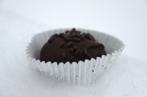 Oreo Truffle in the Snow