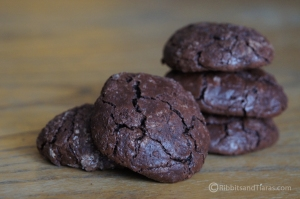 Flourless Chewy Chocolate Cookies