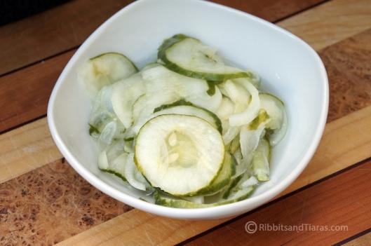 Cool Classic Cucumber Salad
