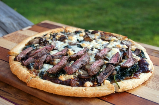 Black and Blue Pizza
